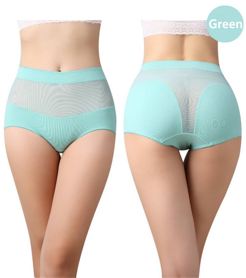 New Hot Cotton with Lace Side Best Quality Underwear Women Sexy Panties Casual Intimates Female Brie