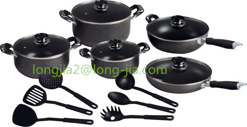 LJ Press Aluminum Non-stick - Cookware set- Factory