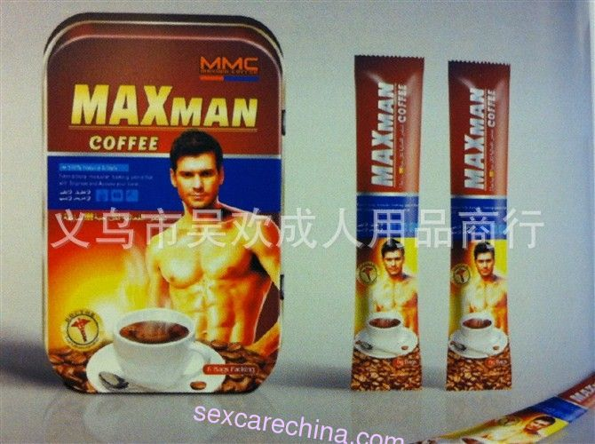 Maxman Coffee Sex Products for Men to Be Strong 6G8SACHETS