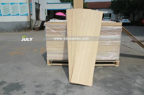 1/16 Bamboo veneer for longboards china bamboo veneer factory