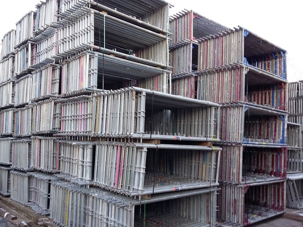 Used RUX Super 65 with Steel/Access Decks Frame Scaffolding