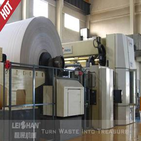 1880mm corrugated waste carton recycling machine, paper recycling plant machinery, paper recycling p