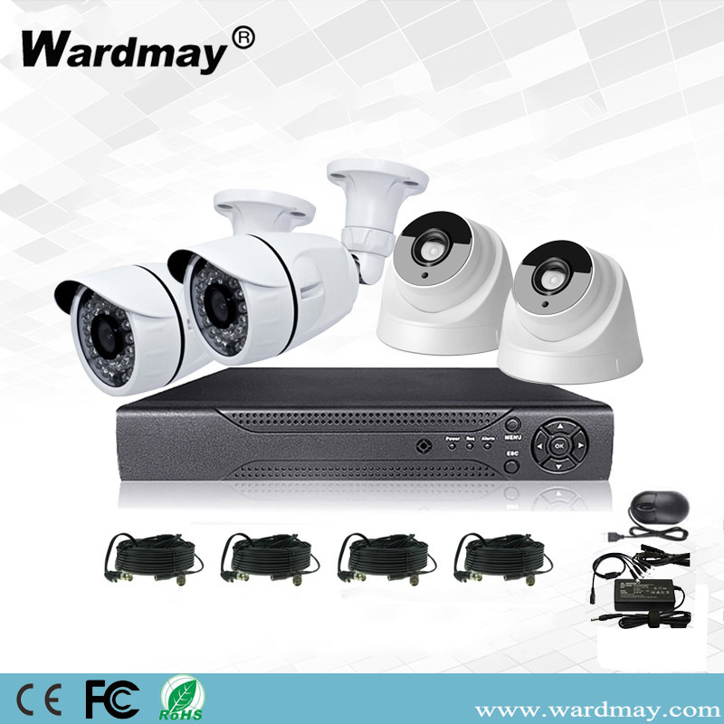 CCTV 4CH 2.0MP Home Security Surveillance DVR System Kits From CCTV Cameras Suppliers