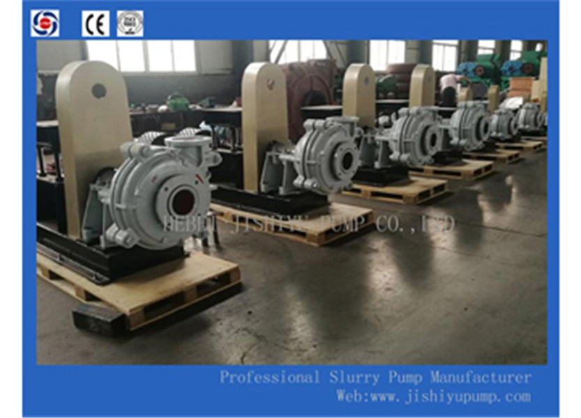 Three types of seals for slurry pump shaft seals