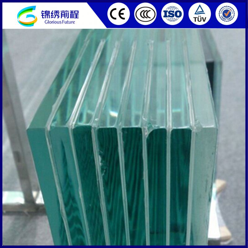 China Hot Sale Customers Factory Price Tempered Laminated Glass