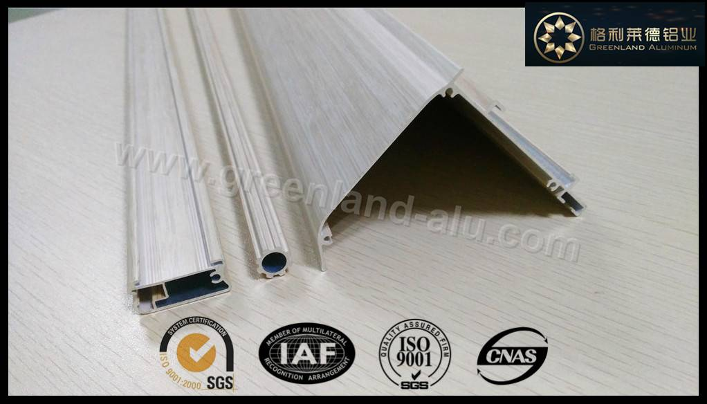 aluminium profiles for window blinds