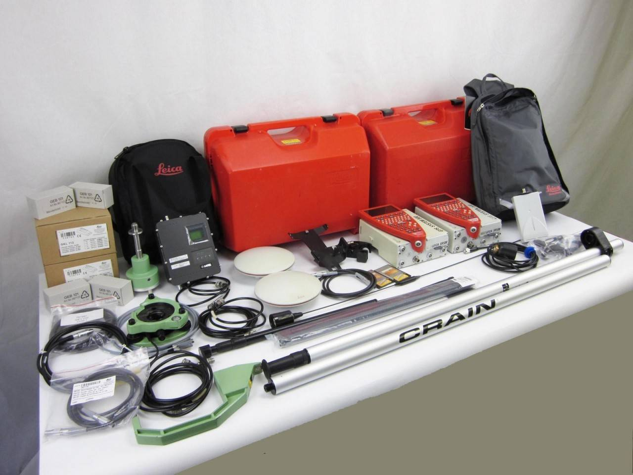 Used Leica SR530 Dual Frequency L1/L2 Base & Rover RTK Survey