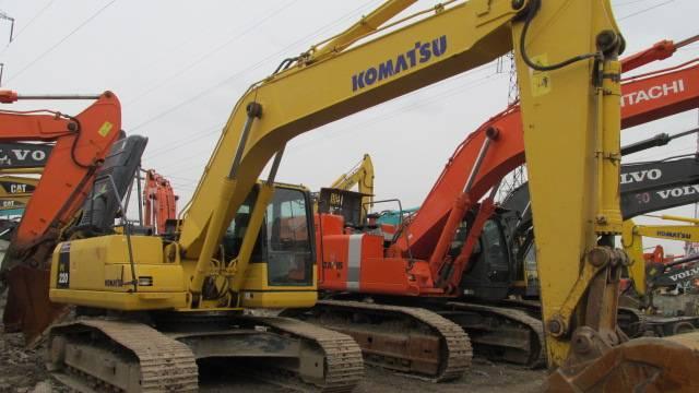 Used KOMATSU Excavator PC220-8,used good excavator