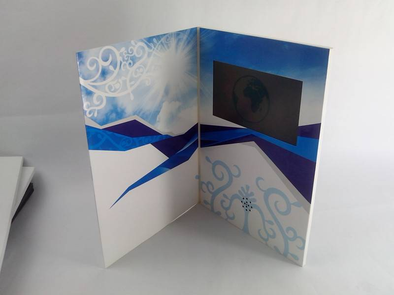 Competitve price of TFT LCD 4.3 inch Video card, LCD Greeting card