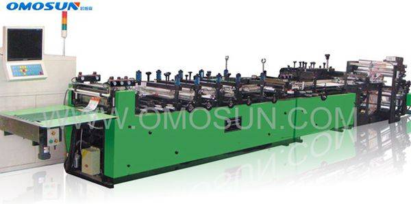 OMOSUN Packaging Forming Machine, full automatic plastic bag making machine