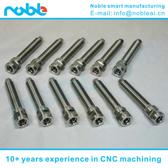 CNC machined stainless steel industrial robot connected components made in china