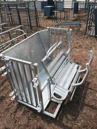 Hot Dipped Galvanised Mobile Sheep and Goat Catcher