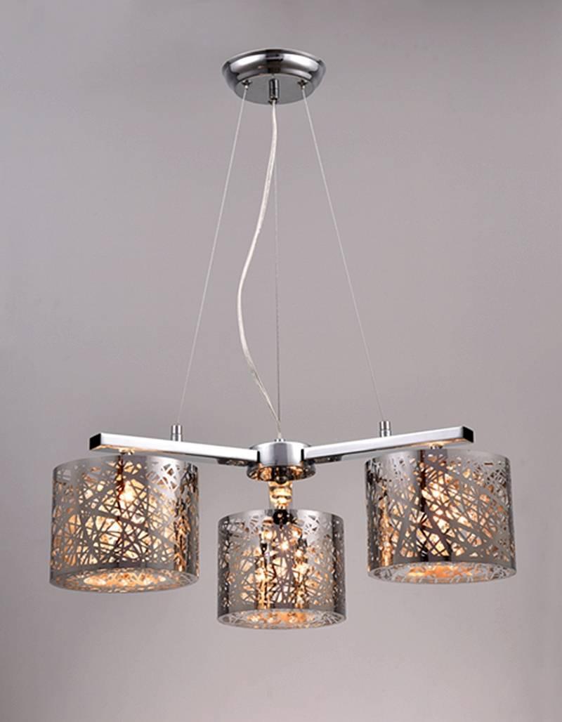 bird nest iron steel chandeliers