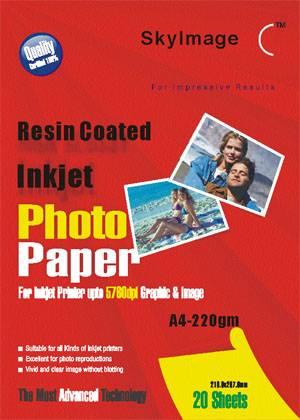 220g Inkjet Resin Coated Paper