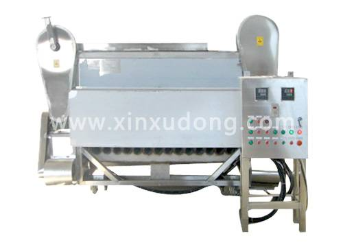 Semi-auto Continuous Frying Production Line