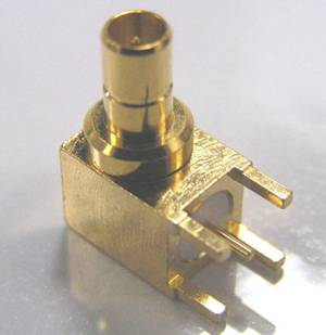 SMB JACK RA for PCB Mount