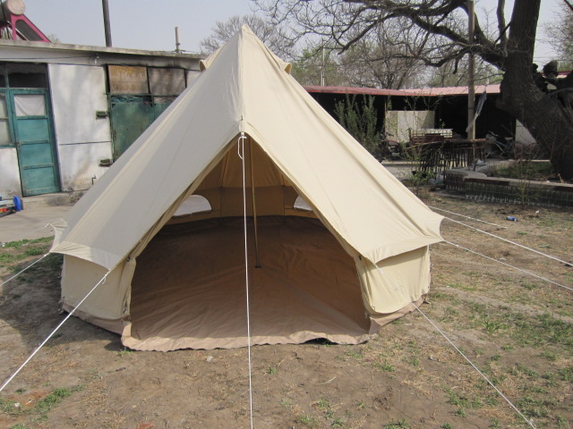 canvas 4m bell tent