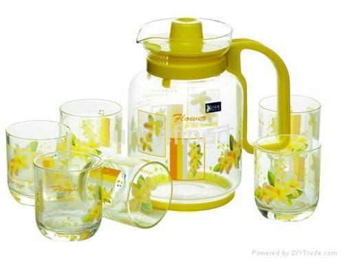 Glass Jug Set
