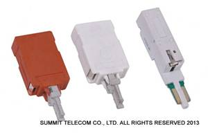 Overvoltage &Overcurrent Protection for Disconnection Module,Single Pair 5-Point Lightning Protector