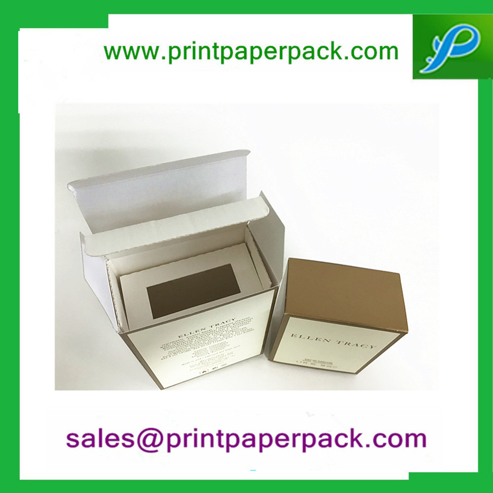 Fashionable Best Selling Art Paper Paper Foldin Mustang Perfume Box with Liner