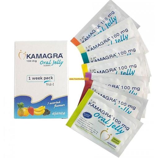 Kamagra Oral Jelly Weekly Pack
