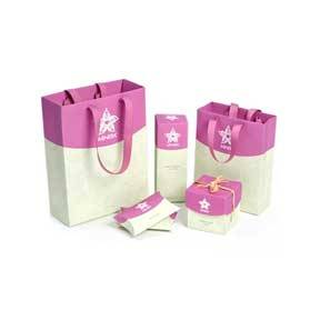 Fashion Paper Packaging Bags and Boxes,Paper Packaging Sets, Wholesaler