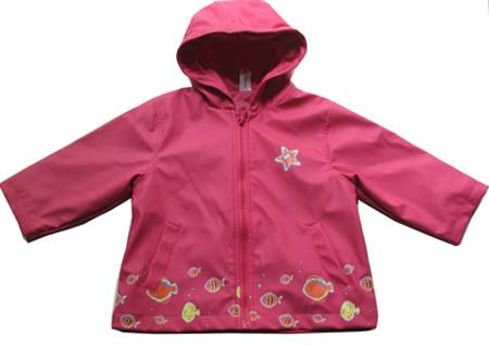 Kid's Rain Jacket(with High frequency welding)