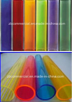 Colourful Acrylic Tube in Different Sizes