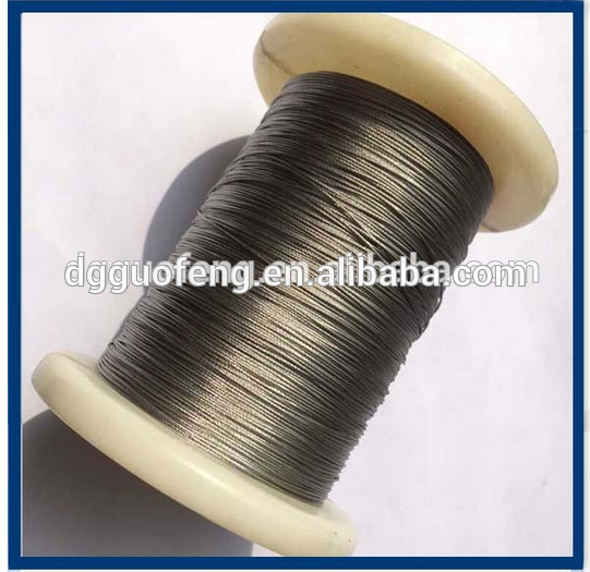 Supply Types High Quality Galvanized Stainless Steel Wire Rope