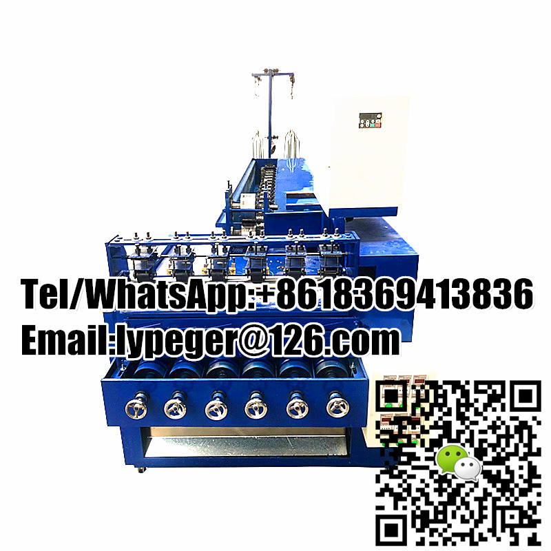 Full automatic scourer making machine with wire drawing