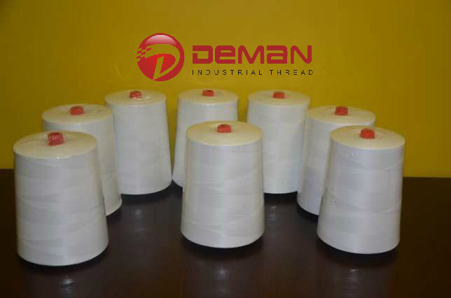 polyester bag sewing closing thread 12/4