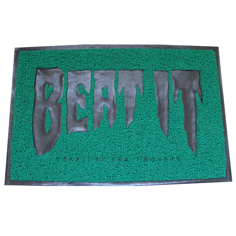 custom anti slip pvc door mat/floor mat/logo mat