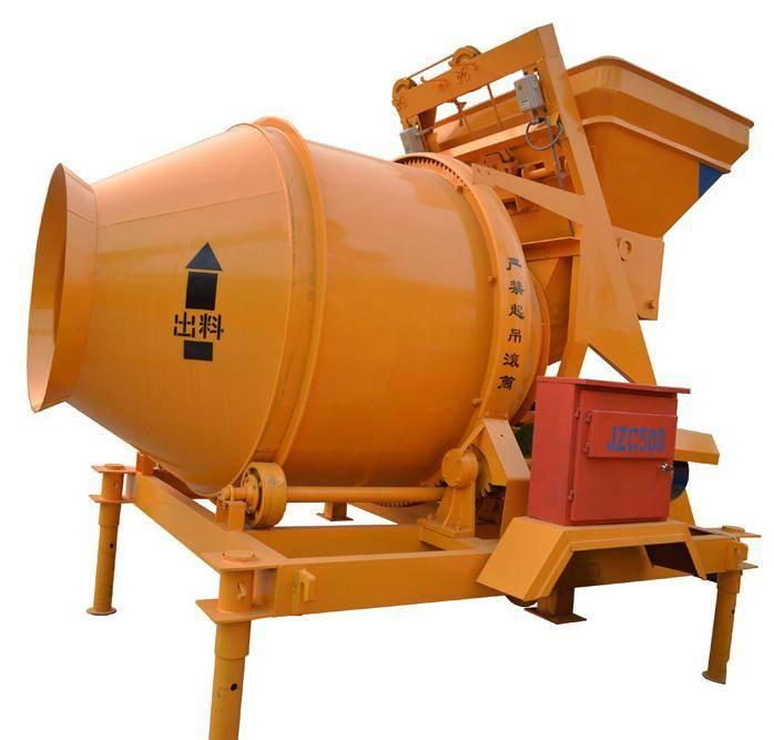 JZC500 Concrete Mixers