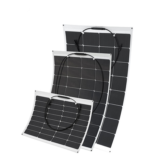 Stable performance 50w - 160w flexible solar panel ETFE
