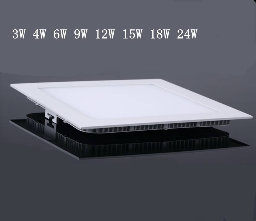 Square Indoor Ceiling Panel Lighting LED energy saving high quality