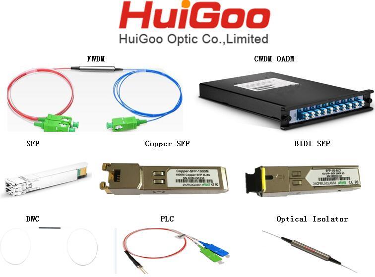 Dual Window Coupler 1x2 DWC optical couplers fiber optic coupler