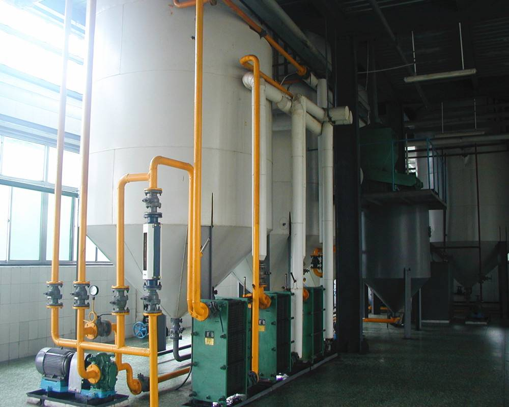 Cooking oil refinery machine | edible oil refinery plant