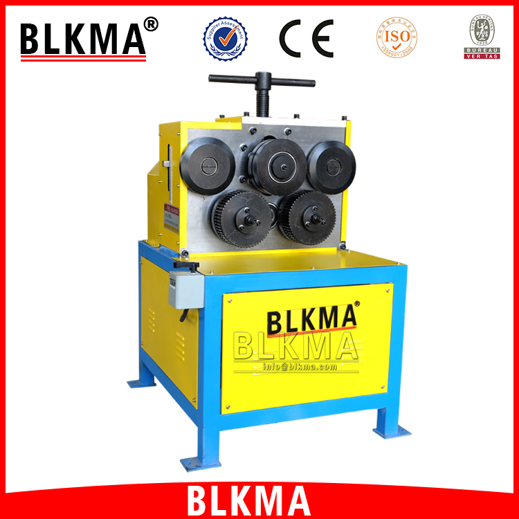 BLKMA Electric angle iron roll forming machine / steel sheet roller machine for HVAC