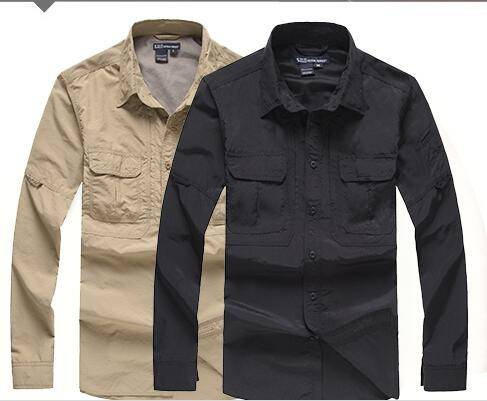 Quick dry long sleeve 5.11 tactical shirts
