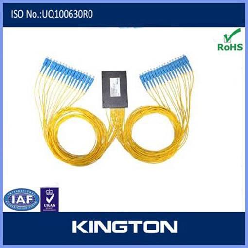 fiber optic plc splitter 1*16 sc connector