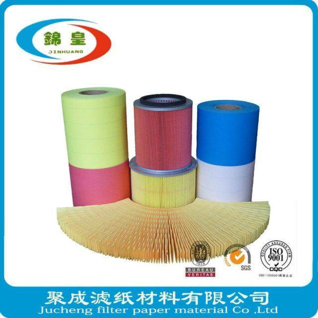 Auto industry filter paper for engine air filteration