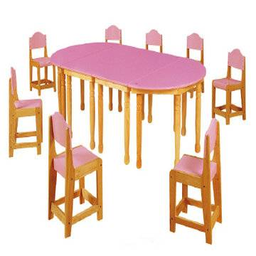 baby plastic table and chair