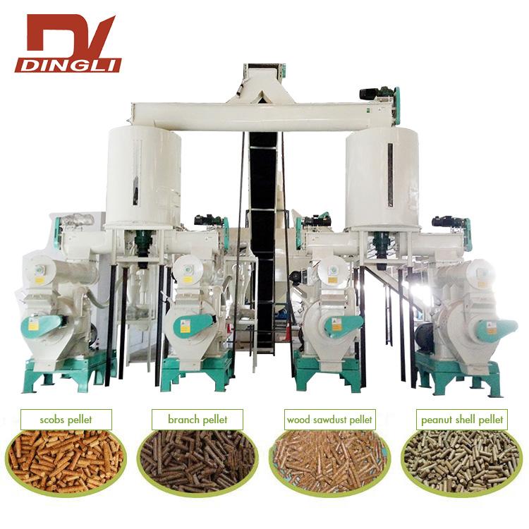 Complete Biomass Pellet Production Line