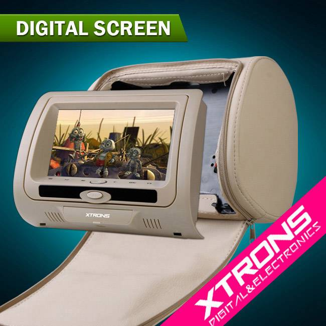 "2x7"" HD705: 2x7"" headrest monitor DVD player"
