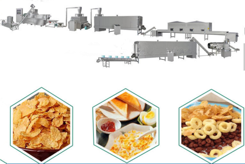 Breakfast Cereals (Corn Flakes) Processing Line
