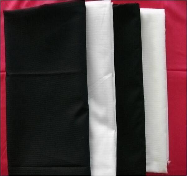 Herringbone Polyester/Cotton Fabric Dyed