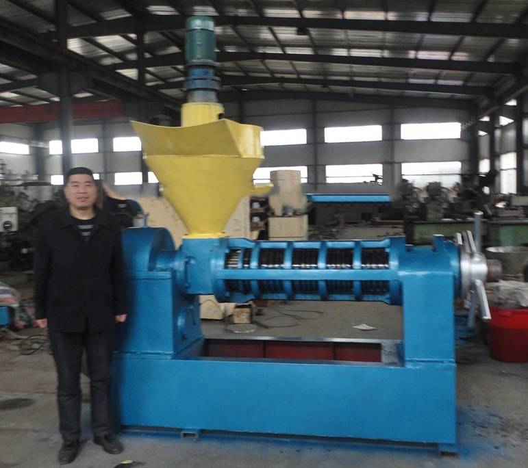 150kg per hour peanut oil press machine