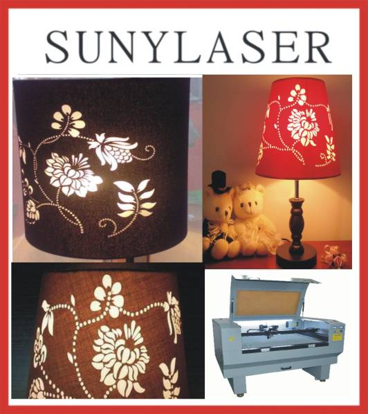100W Lampshade Laser Cutter with Ce FDA Suny 1280