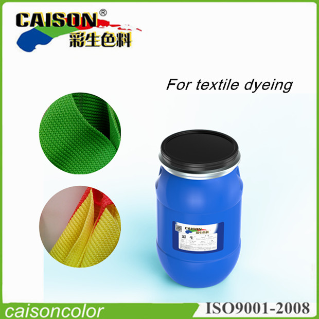 Blue pigment color paste for dyeing