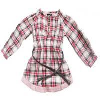 Children check shirts supplier children top manufacturer